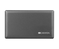 Картридер внешний Сanyon CNE-CARD2, USB 2.0, серый