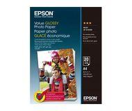 Фотобумага Epson A4, 20л., глянцевая [C13S400035]