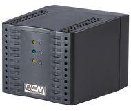 УЦЕНКА Стабилизатор напряжения Powercom TCA-2000 Black Tap-Change, 1000W