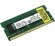 Память SODIMM DDR3 2Gb 1600MHz PC12800 Kingston  KVR16LS11S6/2
