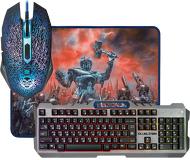 Набор игровой Defender Killing Storm MKP-013L [клавиатура, мышь, коврик]