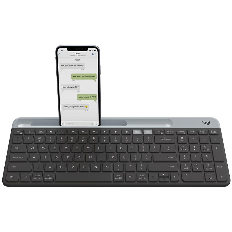 Клавиатура беспроводная Logitech K580 черный (920-009275)