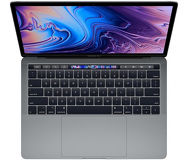 "Ноутбук Apple MacBook Pro Retina 13.3"" TouchBar [MV962] i5-2.4GHz/8Gb/SSD 256Gb/Iris+655 серый"