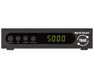 Ресивер DVB-T2 World Vision T64D черный