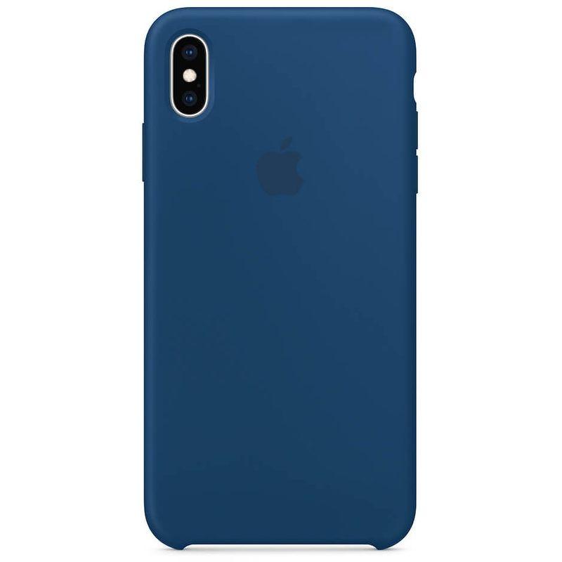 Чехол Apple Silicone Case для [iPhone Xs Max], Blue Horizon [MTFE2] реплика