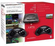 Игровая приставка Retro Genesis HD Ultra 2 + 50 встроенных игр, 2 беспроводных геймпада, HDMI