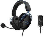 Наушники с микрофоном HyperX Cloud Alpha S  синий