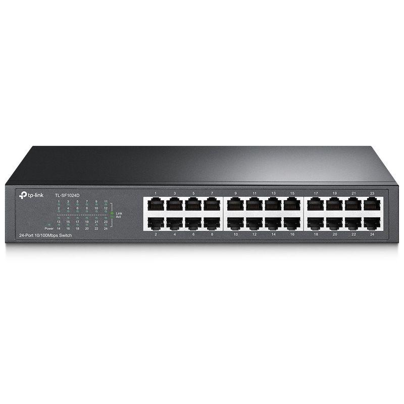 Коммутатор TP-Link TL-SF1024D 24-port 10/100M Switch