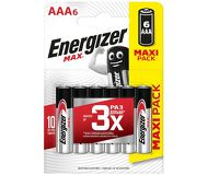 Батарейки Energizer Max AAA (LR03)