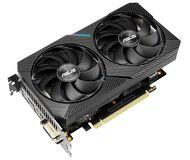 Видеокарта Asus GeForce GTX 1660 Super Mini OC (6 ГБ 192 бит) [DUAL-GTX1660S-O6G-MINI]