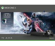 Игровая приставка Microsoft Xbox One X 1 Тб + Star Wars + 1M EA Access [CYV-00421]