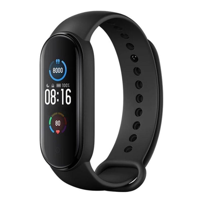 Фитнес-браслет Xiaomi Mi Smart Band 5 черный