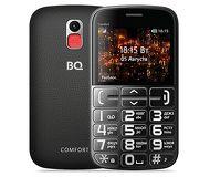 Сотовый телефон BQ Comfort BQ-2441 черный/серебристый