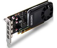 Видеокарта PNY nVidia Quadro P1000 (4 ГБ 128 бит) OEM [VCQP1000V2-PB]