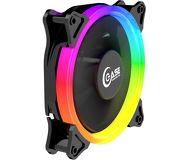 Вентилятор Powercase 120 мм 5 color LED  [PF1-3+4] OEM