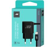 СЗУ VSP [Lightning] для Apple, 1A, черный [34847]