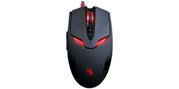 Мышь A4Tech Bloody V4M черная