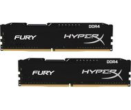 Память DDR4 8Gb 2133MHz PC17000 Kingston HyperX Fury Black  HX421C14FBK2/8  Kit 2x4Gb