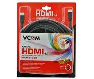 Кабель HDMI-HDMI 20 м v1.4 VCOM  VHD6020D-20MB  черный