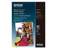 Фотобумага Epson A4, 50л., глянцевая  C13S400036