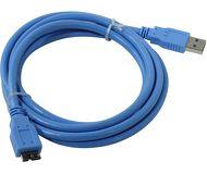 Кабель USB 3.0 Am-microBm 1.8м Telecom, для жёсткого диска  TUS717-1.8m