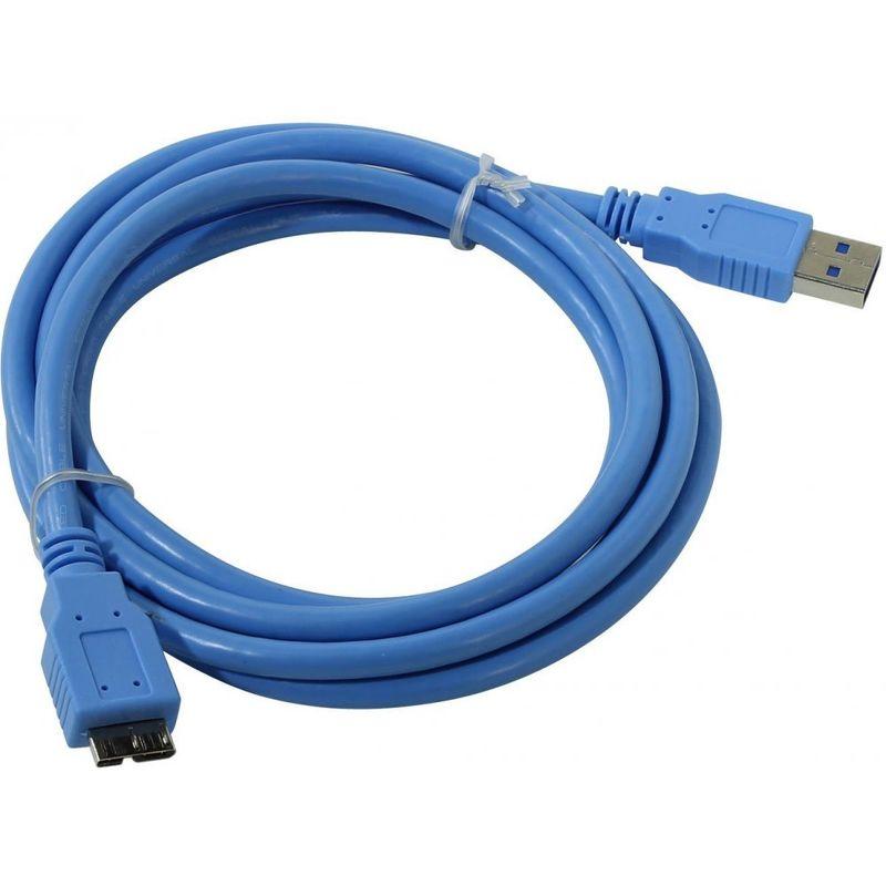 Кабель USB 3.0 Am-microBm 1.8м Telecom, для жесткого диска [TUS717-1.8m]