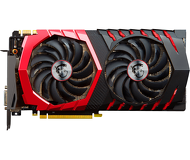 Видеокарта MSI GeForce GTX 1080 Gaming X (8Gb 256bit)  GTX 1080 GAMING X 8G  б/у