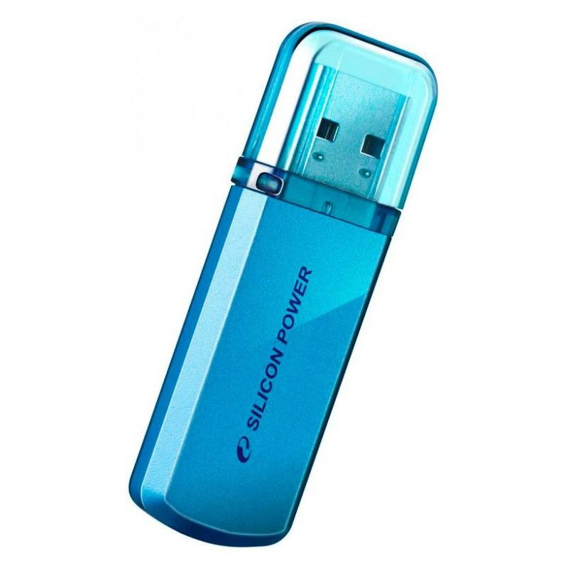 Флешка USB 32 ГБ Silicon Power Helios 101 USB 2.0 синий