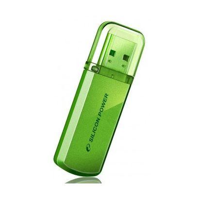 Флешка USB 32 ГБ Silicon Power Helios 101 зеленый
