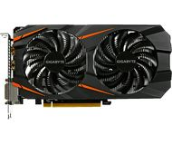 Видеокарта Gigabyte GeForce GTX 1060 WindForce OC (6Gb 192bit)  GV-N1060WF2OC-6GD