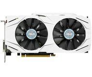 Видеокарта Asus GeForce GTX 1060 Dual OC (3Gb 192bit)  DUAL-GTX1060-O3G