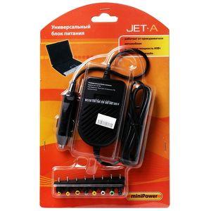 Автомобильное зарядное устройство Jet.A JA-PA5 miniPower, 80Вт