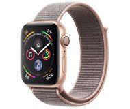 Часы Apple Watch Series 4 (GPS) 40mm золотистые (алюминий) с розово-песочным спорт.браслетом