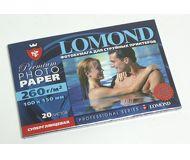 Фотобумага Lomond 10х15 260 г/м2, 20л., cуперглянцевая  1103102