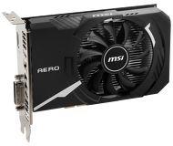 Видеокарта MSI GeForce GT 1030 AERO ITX OC (2 ГБ 64 бит) [GT 1030 AERO ITX 2GD4 OC]