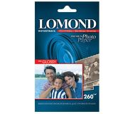 Фотобумага Lomond 10х15 260 г/м2, 20л., полуглянцевая [1103302]