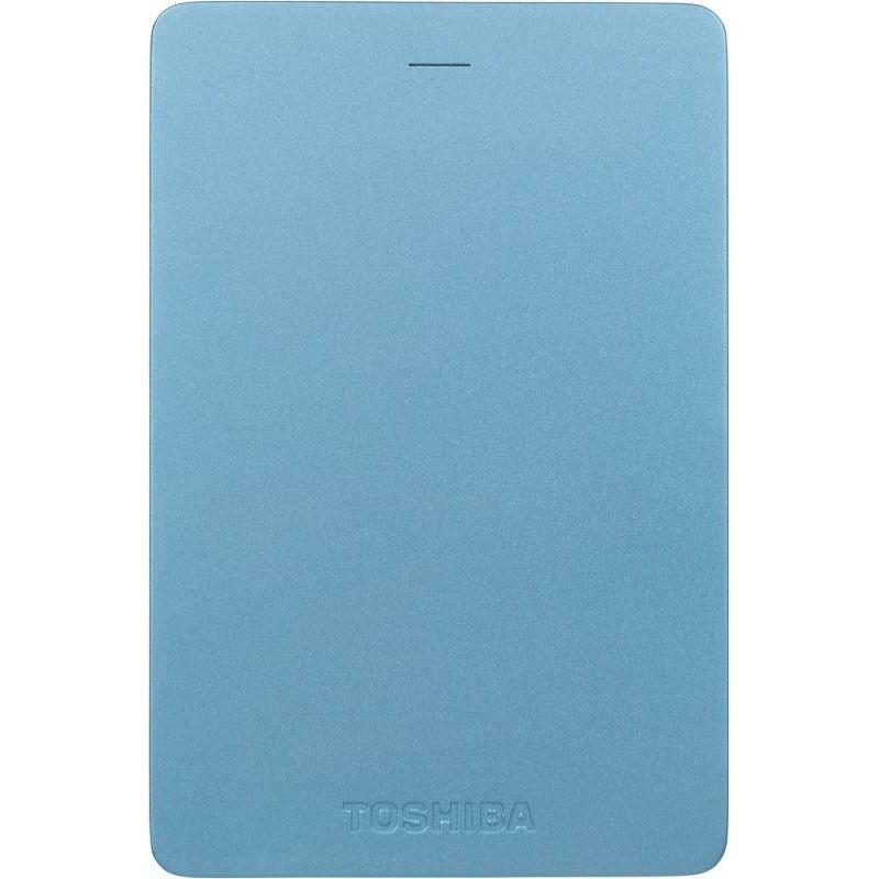 "Внешний жесткий диск Toshiba 500Gb HDTH305EL3AA Canvio Alu USB 3.0 2.5"" голубой"