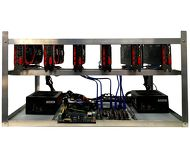 Риг для майнинга ZEON RX550x4Gbx6