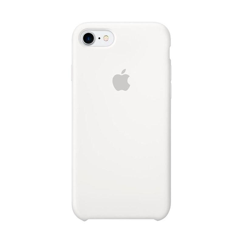 Чехол Apple Silicone Case для [iPhone 7/8], белый [MQGL2] реплика