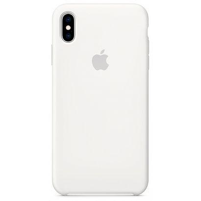 Чехол Apple Silicone Case для [iPhone Xs Max], белый [MRWF2] реплика