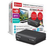 Ресивер DVB-T2 D-Color DC700HD Plus черный