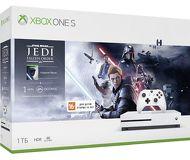 Игровая приставка Microsoft Xbox One S 1Tb + Star Wars Jedi Fallen Order [234-01099]