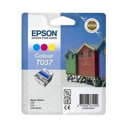 УЦЕНКА Картридж струйный Epson [T037] цветной (C13T037040)