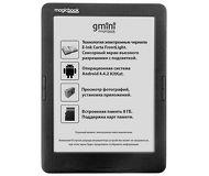 "Электронная книга Gmini MagicBook A62LHD 6"" 8Gb Черный"