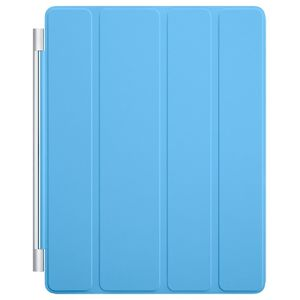 Чехол Apple iPad 2/3/4 Smart Cover полиуретан синий  MD310ZM/A