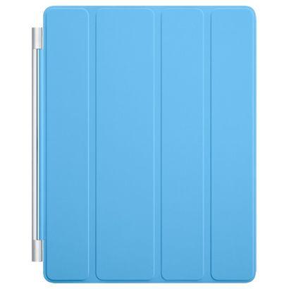 Чехол Apple iPad 2/3/4 Smart Cover полиуретан синий [MD310ZM/A]