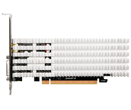 Видеокарта Gigabyte GeForce GT 1030 Silent (2 ГБ 64 бит) [GV-N1030SL-2GL]