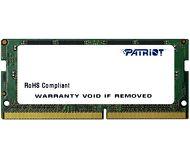 Память SODIMM DDR4 4Gb 2400MHz PC19200 Patriot  PSD44G240081S