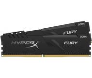 Память DDR4 8 ГБ 3200 МГц PC25600 Kingston HyperX Fury Black [HX432C16FB3K2/8] Набор 2x4 ГБ
