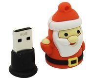 Флешка USB 8 ГБ Smartbuy NY series Санта S [SB8GBSantaS]